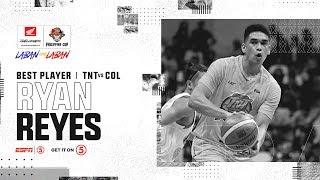 [Sport5]  Best Player: Ryan Reyes | PBA Philippine Cup 2019