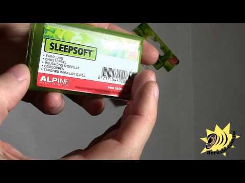 Alpine SleepSoft - беруши для СНА N1.