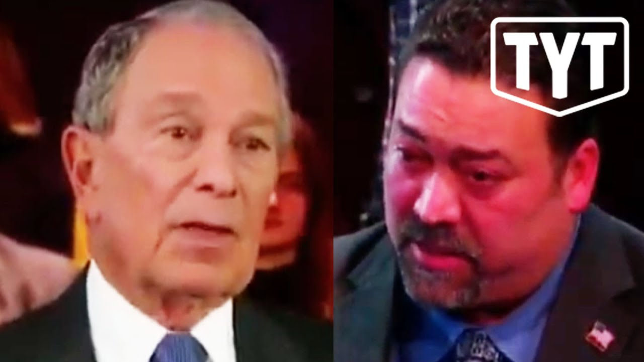 Trump Supporter Calls Bloomberg Racist thumbnail