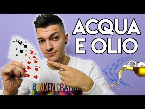 3 MAGHI FANNO LO STESSO TRUCCO - Acqua e Olio