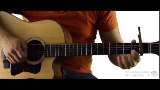 Talladega - Guitar Lesson and Tutorial - Eric Church