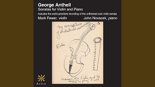 Mark Fewer & John Novacek - Violin Sonata No. 1: III. Funebre: Lento espressivo