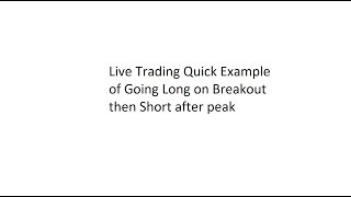 Trading Breakouts - Going Long while also Catching The Short