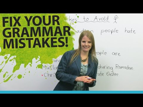 Download Fix Your English Grammar Mistakes: Talking about People Mp4 HD Video and MP3