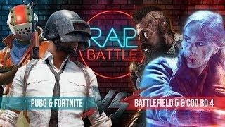 Рэп Баттл - PUBG & Fortnite vs. Battlefield 5 & Call of Duty: Black Ops 4