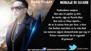 """""""Mensaje De Estado"""" Con Letra (ORIGINAL) - Daddy Yankee HD"""