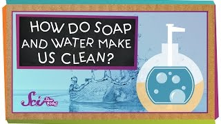 How Do Soap and Water Make Us Clean?