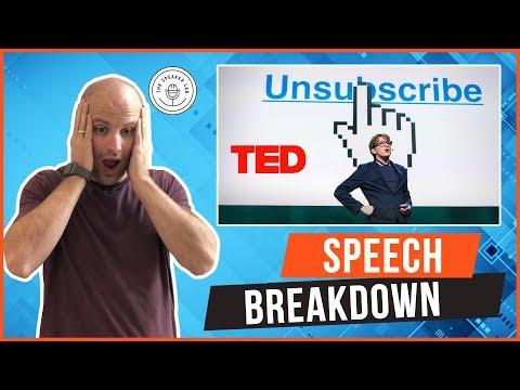 Speech Breakdown:James Veitch TED Talk (видео)