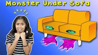 Monster Under Pari's Sofa | Funny Short Film /Story | Pari's Lifestyle