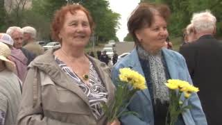 Митинг, посвященный 61-й годовщине г. Амурска, состоялся у Памятного знака Первостроителям города
