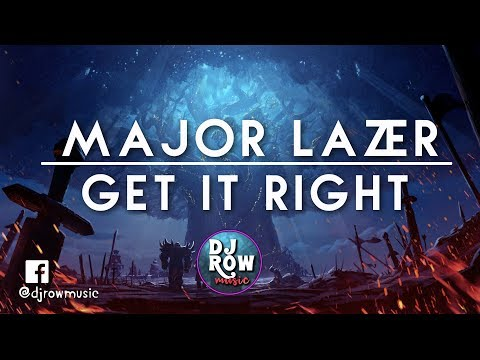 Diplo - Get It Right (Feat. MØ) (Official Lyric Video) Major Lazer