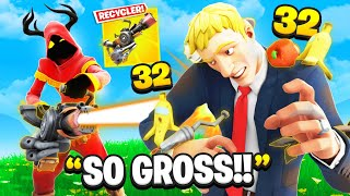 I Trolled With *New* RECYCLER GUN! (Fortnite)