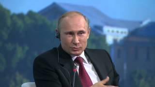 """Путин порвал зал...  """"Пусть Барак идет..."""""""