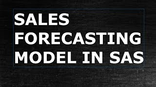 Sales Forecasting | Marketing Analytics | Forecasting Models