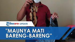"""Tubuh Wanita di Bogor Terbakar, Mantan Suami Peluk Korban hingga Ikut Terbakar: """"Ingin Mati Bersama"""""""