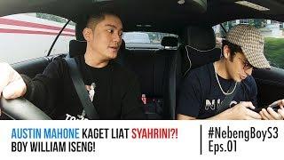 Austin Mahone kaget lihat Syahrini?! Boy William Iseng! - #NebengBoy S3 Eps. 01