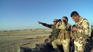 Krieg Gegen Die IS Terroristen: Unterwegs Mit Kurdischen Kämpfern Im Irak