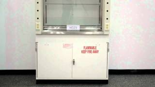 4′ New Mott Fume Hood For Sale with Base Laboratory Flammable Cabinets