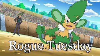 Simisage  - (Pokémon) - Rogue Tuesday #39 Simisage/Eeveelutions