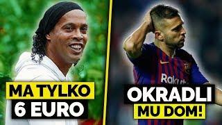 Ronaldinho tonie w DŁUGACH! Jordi Alba okradziony...