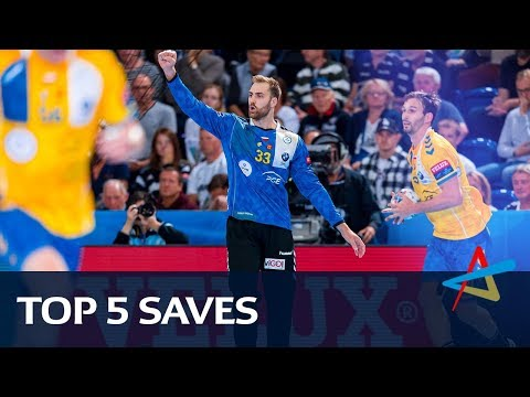 Top 5 saves | Round 1 | VELUX EHF Champions League 2019/20