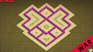 Clash of Clans | TH5 War Base | Town Hall 5 Base Defense Strategy [New 2016 TH5 Base]
