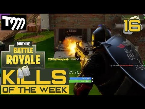 Fortnite: Battle Royale - TOP 10 KILLS OF THE WEEK #16 (Best Plays on Fortnite)