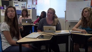 Tech-Rich Lesson Plan In Action: Middle School ELA - Verbs