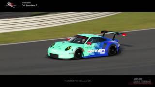 Fuji Speedway Replay - Porsche 911 RSR 2017 - GT Sport