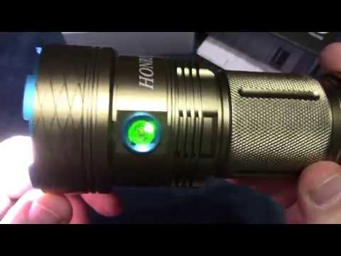 Honriya Gold Flashlight Review!