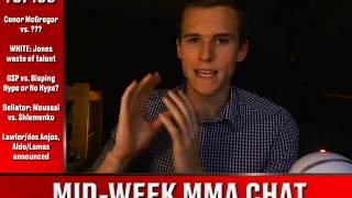 Mid-Week MMA Chat - McGregor vs. ?, Dana White comments, Bellator 185 + more.