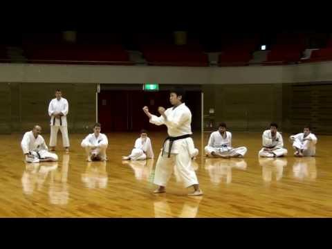 Suparinpei kata (Goju-ryu version)