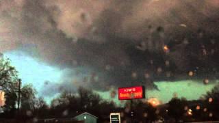 Sand Springs to Tulsa OK, Tornado & Massive Circulation. 3/25/15 - 1