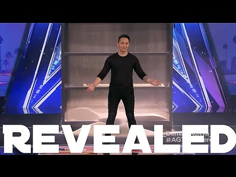 Revealed - Demian Aditya Escape Trick on AGT (видео)
