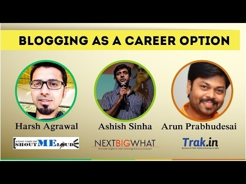 Top Indian Bloggers Discussing Career As a Blogger