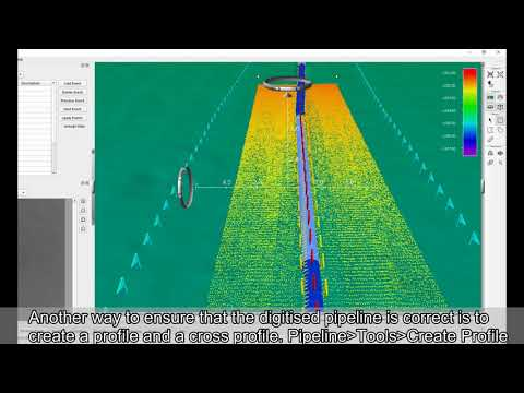 Fledermaus How-to Pipeline Inspection