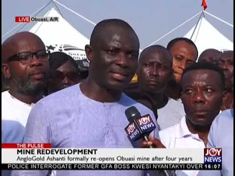Mine Redevelopment – The Pulse on JoyNews (22-1-19)