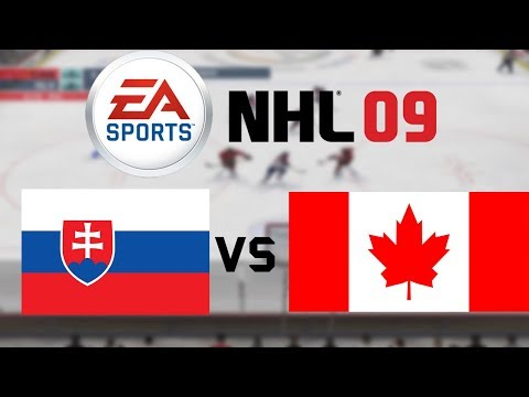 SVK - CAN | NHL 09 | #3