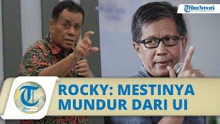 Rektor Ari Kuncoro Lepas Jabatan Komisaris BRI, Rocky Gerung Keliru, Mestinya Mundur dari UI