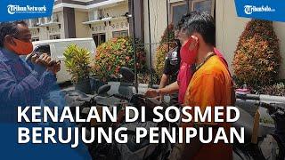 Motor & HP Wanita di Klaten Digondol Pria yang Dikenal lewat Facebook, Pelaku Juga Curi BPKB & STNK