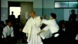 Última apresentação pública de Mestre Ueshiba