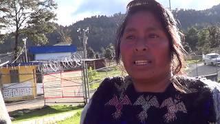 Testimonios de familiares de los 8 indígenas presos tzotziles de los Solidarios de la Voz del Amate