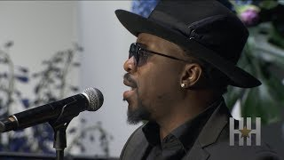 Anthony Hamilton Performs At Nipsey Hussle's Memorial Service