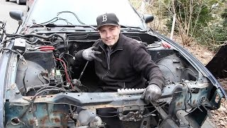 Going through the ENGINE BAY on my S13/WIRING HARNESS ISSUES!!