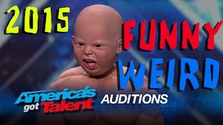 America's Got Talent 2015: Weird  Crazy  Funny  Bad Auditions