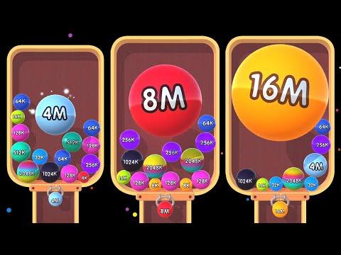 2048 Balls 3D - Unlock 4M 8M 16M Balls | 2048 Games | Android Weekly