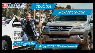 Рожков VS Toyota Fortuner 2018