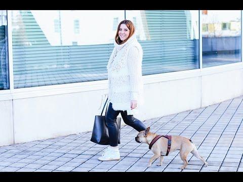 #OOTD Winter Outfit mit Fake Fur Weste - Fashionblog aus Österreich