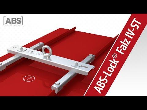 Présentation vidéo compacte concernant le point d'ancrage ABS-Lock Falz IV (joint debout)