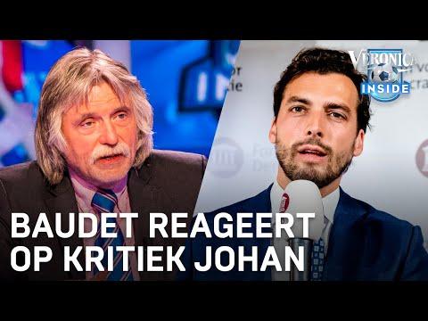 Baudet reageert op kritiek Johan: 'Ik moet maar eens naar hem toe'